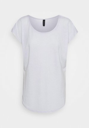 ACTIVE SCOOP HEM - Basic T-shirt - grey marle