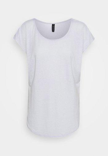 ACTIVE SCOOP HEM - T-shirts - grey marle