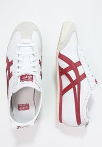 Onitsuka Tiger - MEXICO 66 - Sneakersy niskie - white/burgundy - 1