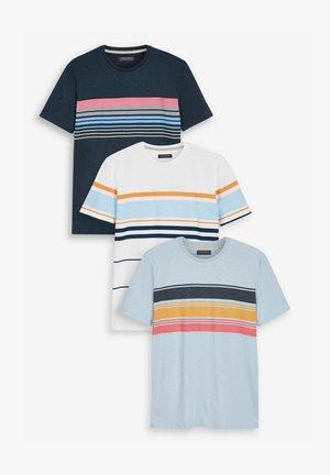 3 PACK - Camiseta estampada - multi-coloured