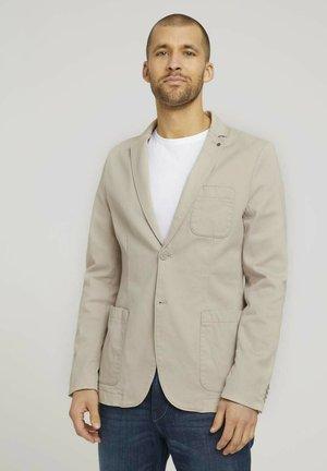 TOM TAILOR  - Blazer jacket - sandy dust beige