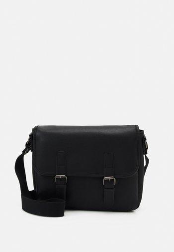 UNISEX - Across body bag - black