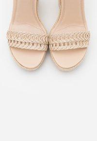 NA-KD - High heeled sandals - natural - 5
