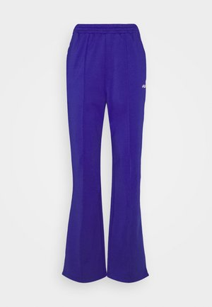 ALKAS TRACK PANT - Bukse - clematis blue/bright white
