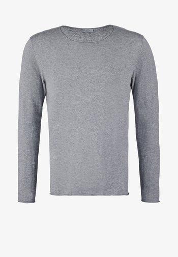 SLHDOME CREW NECK - Jumper - medium grey melange