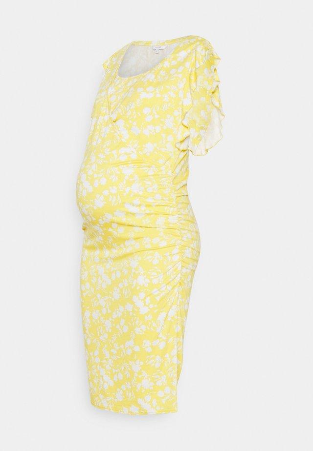 FRESNO - Vestito di maglina - acacia