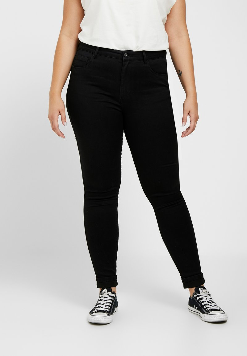ONLY Carmakoma - CARAUGUSTA  - Jeans Skinny - black