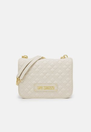 QUILTED SHOULDER BAG - Across body bag - avorio