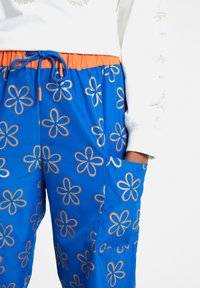 Desigual - EMILIE - Tracksuit bottoms - blue - 3