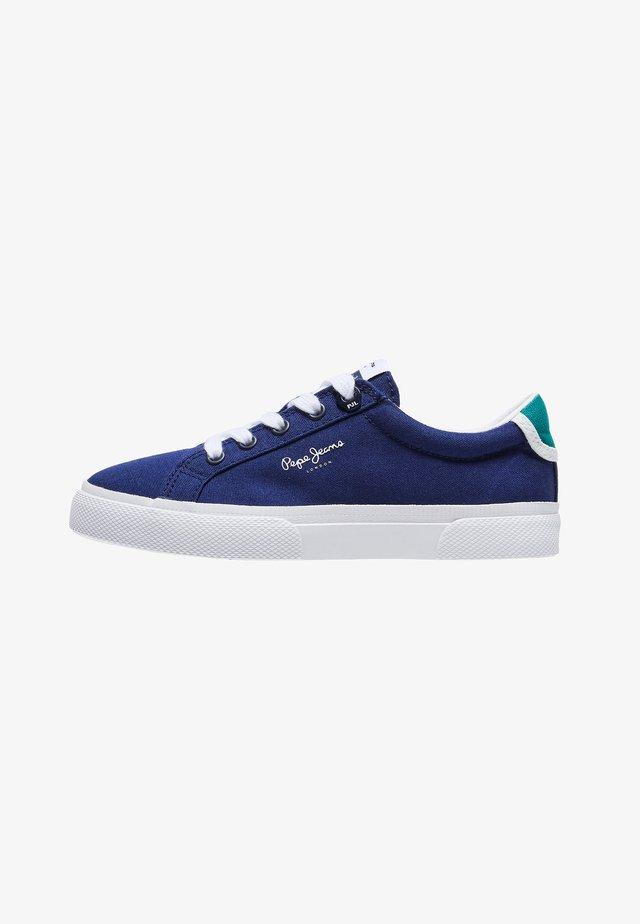 KENTON BASIC - Sneaker low - azul marino