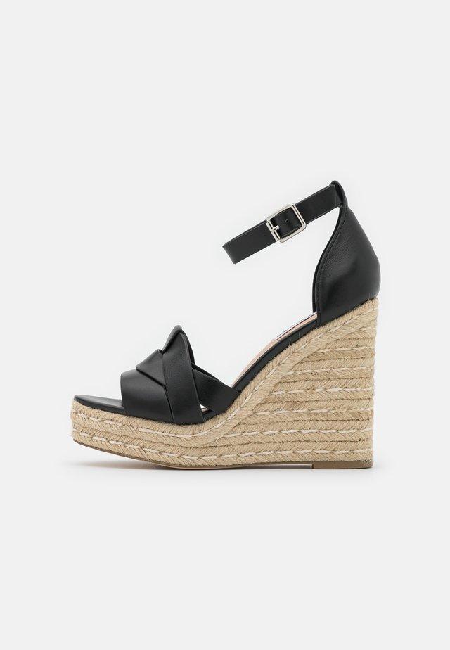 SIVIAN - Korolliset sandaalit - black