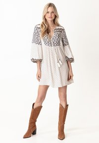 Indiska - PEARL - Day dress - white - 0
