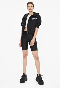 Bershka - MIT KAPUZE - Outdoor jacket - black - 1