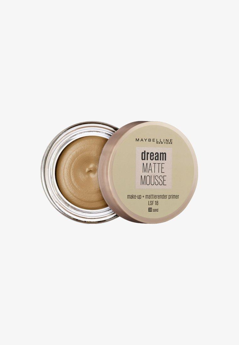 Maybelline New York - DREAM MATTE MOUSSE MAKE-UP - Foundation - 30 sand