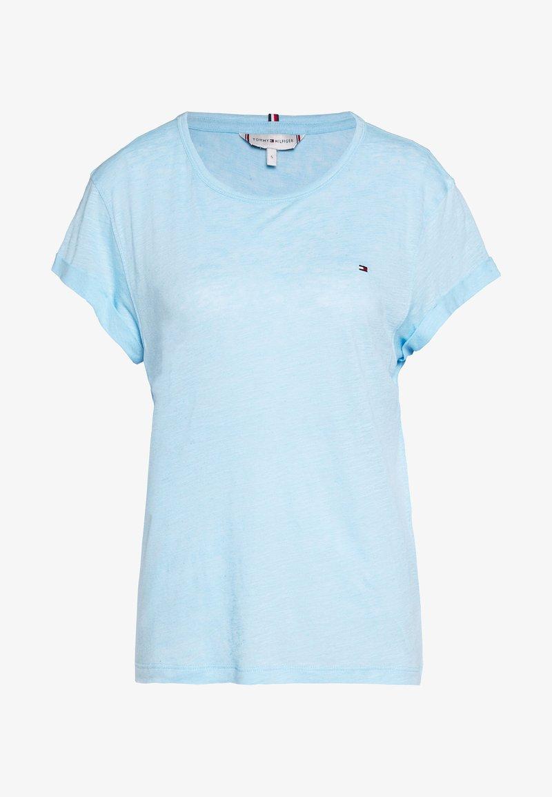 Tommy Hilfiger - VIKKI ROUND - Basic T-shirt - sail blue
