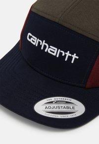 Carhartt WIP - TRICOL  - Cap - dark navy/cypress/bordeaux - 3