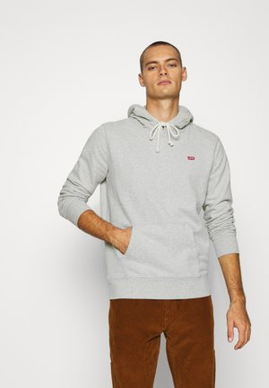 NEW ORIGINAL HOODIE  - Mikina s kapucí - eco gray heather