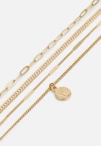 Pieces - PCULLA COMBI NECKLACE D2D KEY - Necklace - gold-coloured - 2