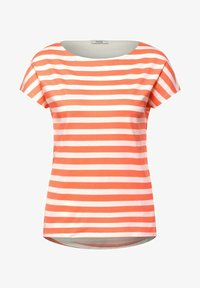 Cecil - Print T-shirt - orange - 3