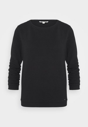 STRUCTURED - Sweatshirt - deep black