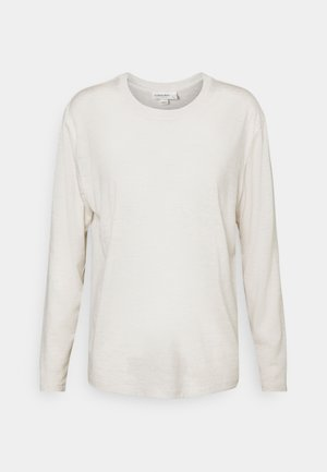 GRANARY - Long sleeved top - ecru heather