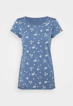 MINT CAMOMILE - T-shirts med print - indigo