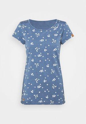 MINT CAMOMILE - Print T-shirt - indigo