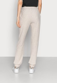 ONLY Tall - ONLNELLA PANTS - Tracksuit bottoms - pumice stone melange - 2