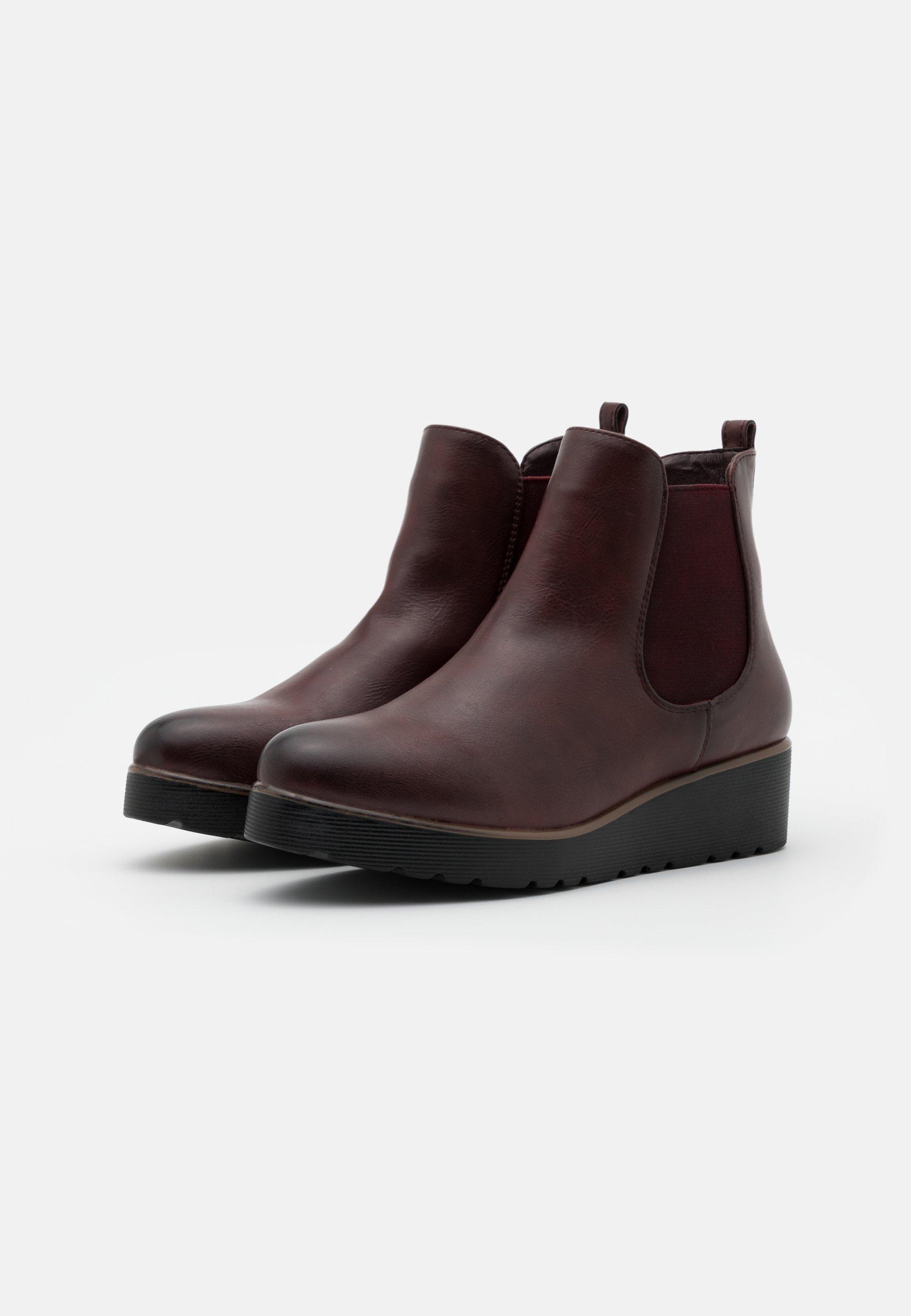 Anna Field Nilkkurit - dark red - Naisten kengät K58Lf
