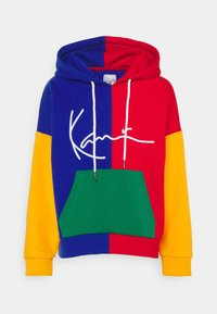 Karl Kani - SIGNATURE BLOCK HOODIE - Sweatshirt - multicolor - 4