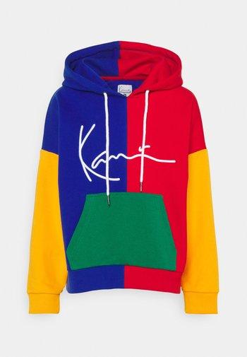 SIGNATURE BLOCK HOODIE - Sweatshirt - multicolor