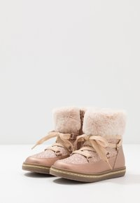 Friboo - Lace-up ankle boots - rose gold - 3