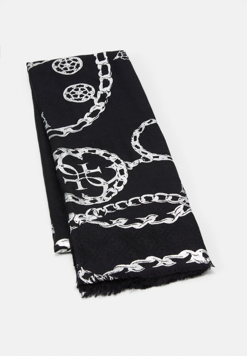 Guess - JACQUARD SCARF - Scarf - nero