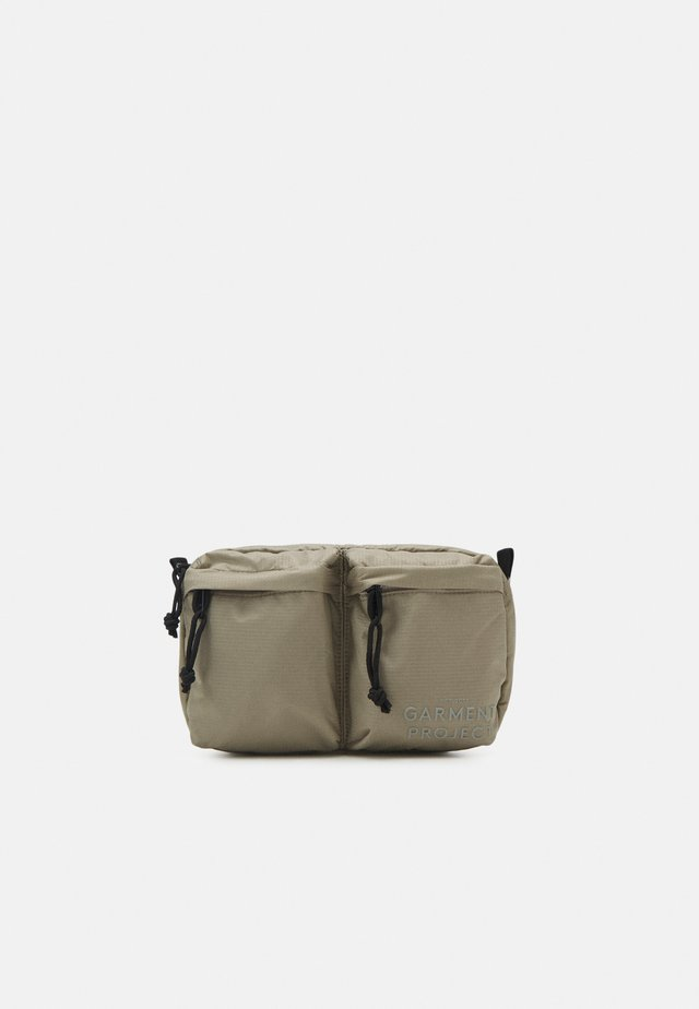 NYLON BUM BAG - Heuptas - earth