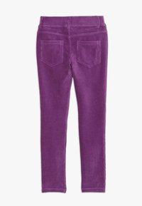 Benetton - TROUSERS - Pantaloni - purple - 1