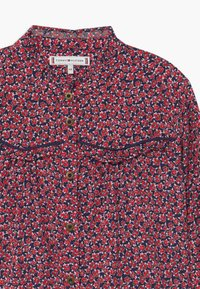 Tommy Hilfiger - RUFFLE FLOWER  - Button-down blouse - blue - 2