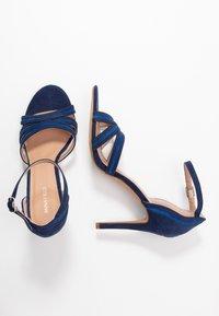 Anna Field - Sandales à talons hauts - dark blue - 3