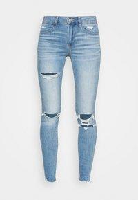 Skinny džíny - tidal blue