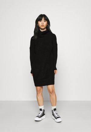 ONLJANA DRESS - Strikket kjole - black