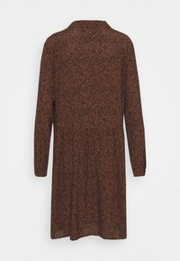 Esprit - EASY TUNIC DRESS - Day dress - brown - 7