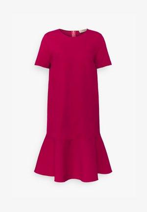 Vestito di maglina - cerise
