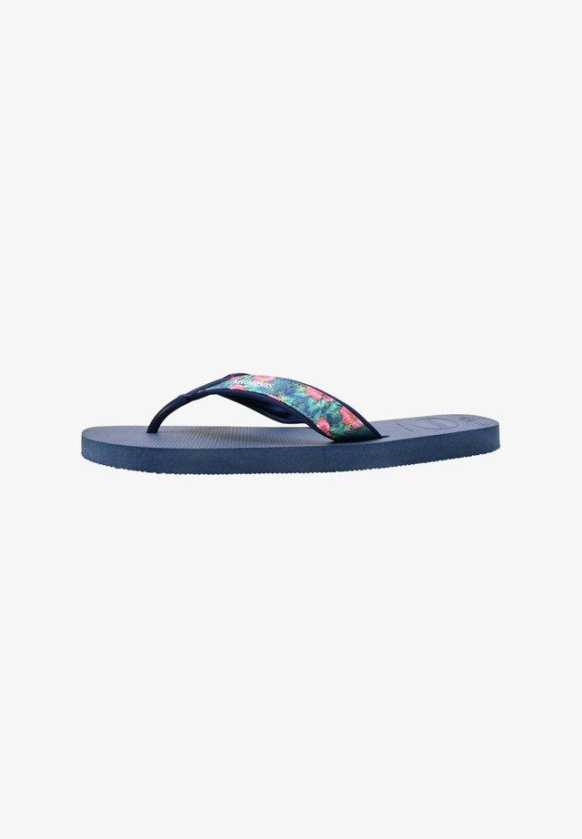 Pool shoes - indigo blue