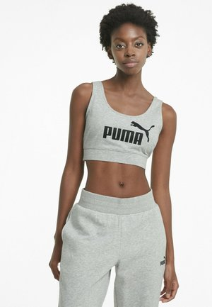 Medium support sports bra - light gray heather
