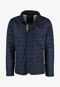 DNR Jackets - MIT REISSVERSCHLUSS UND KNOPFLEISTE - Light jacket - dark blue - 0