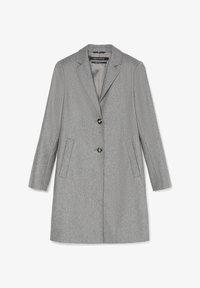 Marc O'Polo - SINGLE BREASTED WELT POCKETS - Classic coat - middle stone melange - 5