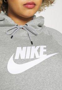 Nike Sportswear - Sweatshirt - grey heather/matte silver/white - 3