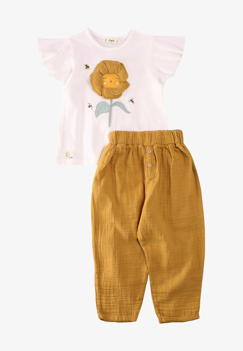Cigit - SET - Trousers - white