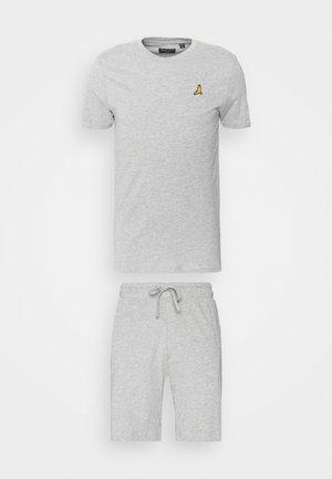 FINNAN SET - Shorts - light grey marl