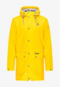Schmuddelwedda - Waterproof jacket - mustard yellow - 4
