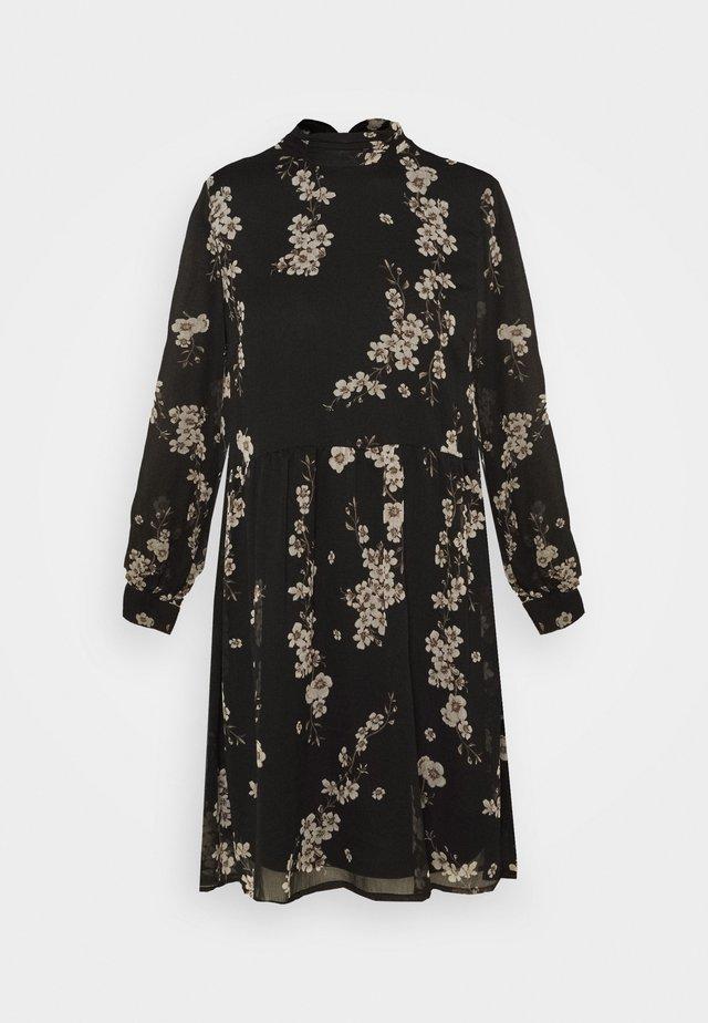 VMTILI HIGH NECK DRESS  - Robe d'été - black